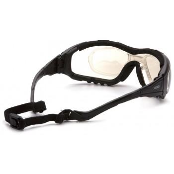 Очки Pyramex V3G GB8280ST (Anti-Fog) зеркально-серые линзы 50% светопропускаемость