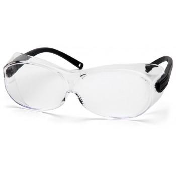 Очки Pyramex OTS XL S7510SJ прозрачные линзы 96% светопропускаемость