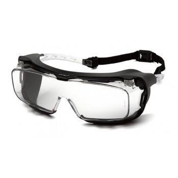 Очки Pyramex Cappture S9910STMRG (Anti-Fog, Diopter ready) прозрачные 96% светопропускаемость
