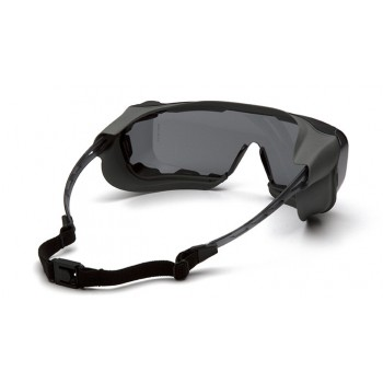 Очки Pyramex Cappture S9920STMRG (Anti-Fog, Diopter ready) серые 23% светопропускаемость
