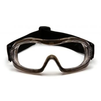 Очки Pyramex G704T (Anti-Fog) прозрачные линзы 96% светопропускаемость