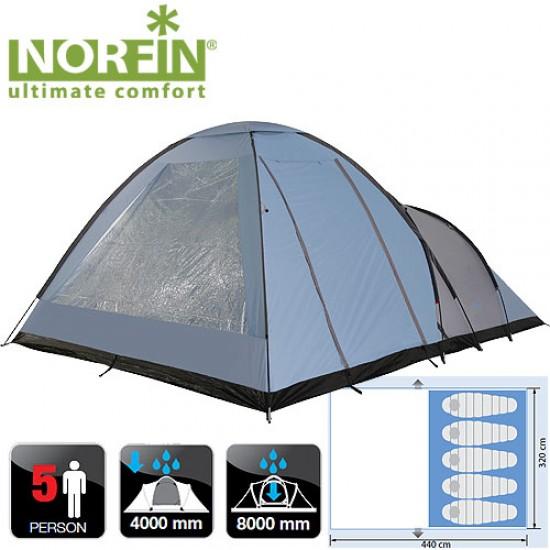 Палатка кемпинговая 5-ти местная Norfin ALTA 5 NFL