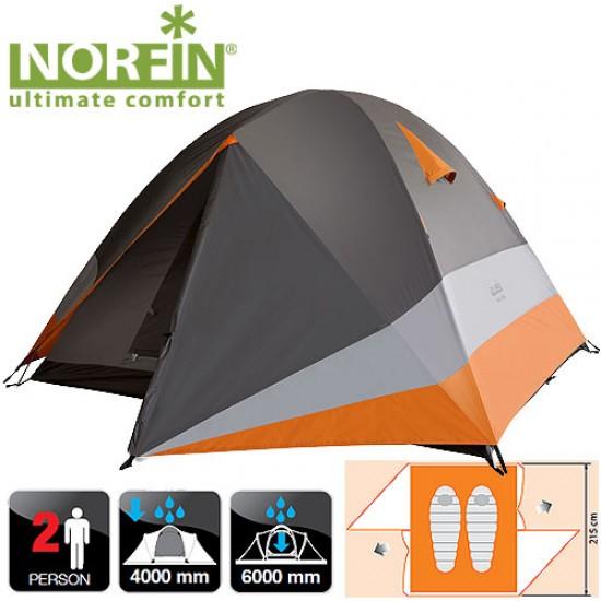 Палатка алюминиевые дуги 2-х местная Norfin BEGNA 2 ALU NS