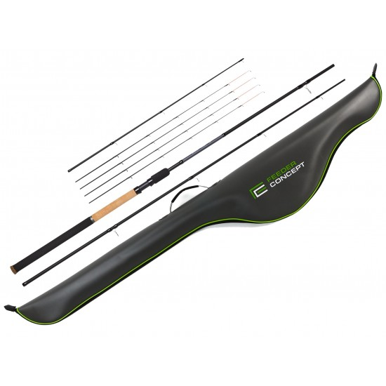 Удилище фидер. Feeder Concept Silver Water 060 3.30 с чехлом EVA 145см