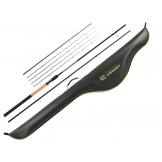 Удилище фидер. Feeder Concept Silver Water 070 3.60 с чехлом EVA 145см