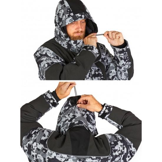 Костюм зим. Norfin EXPLORER 2 CAMO HEAT р.XL