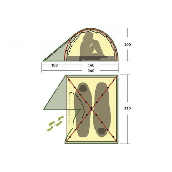 Палатка Alexika Scout 2 Fib