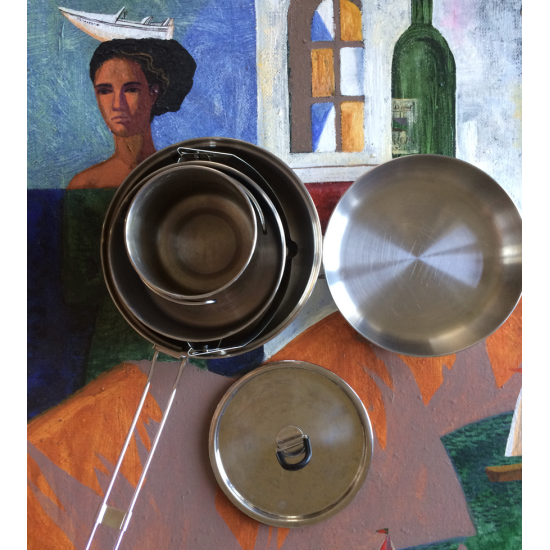 Набор посуды Tatonka Camp Set L
