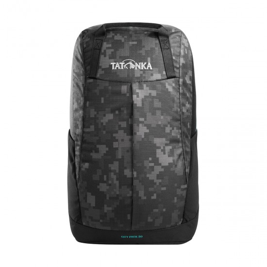 Рюкзак Tatonka City Pack 20 black digi camo