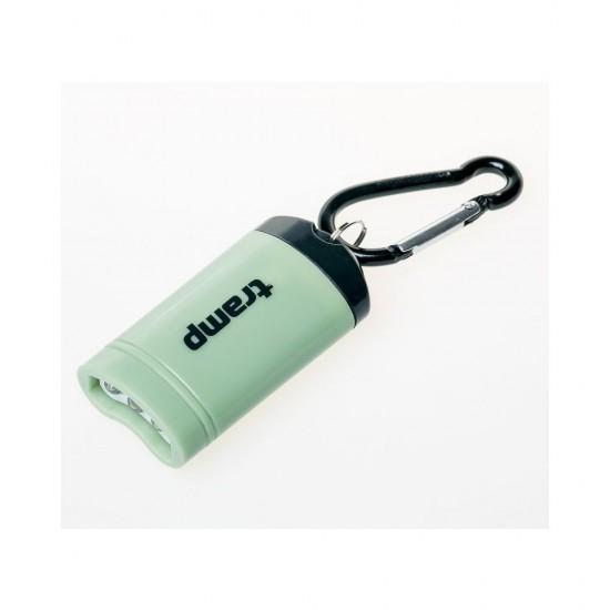 Tramp фонарь-брелок магнитный (пластик), оливковый TRA-188