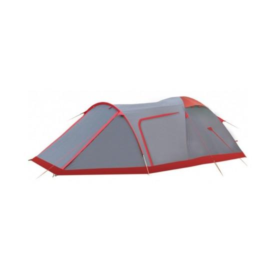 Палатка Tramp Cave 3 V2 серый TRT-21