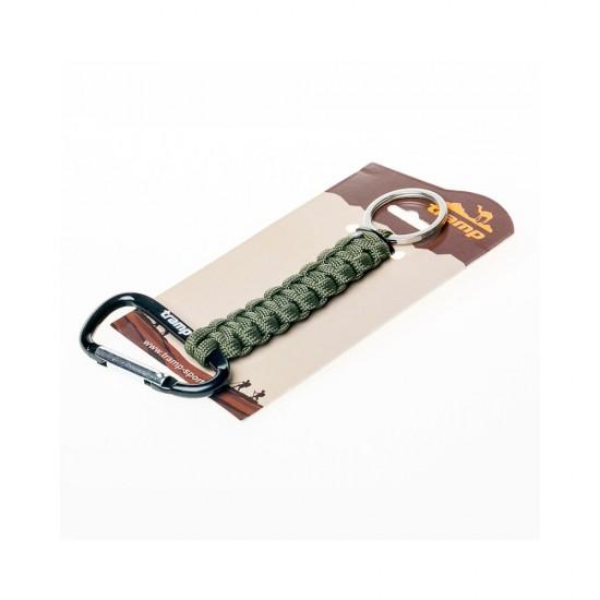 Брелок паракордовый для ключей Tramp TRA-234 черный
