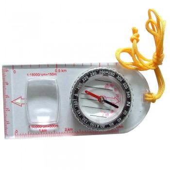 Tramp Lite Компас планшетный с увеличительным стеклом, d4,7 см