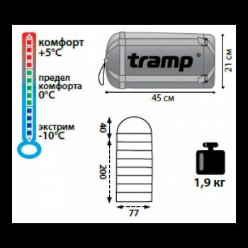 Tramp Lite мешок спальный Baikal 300
